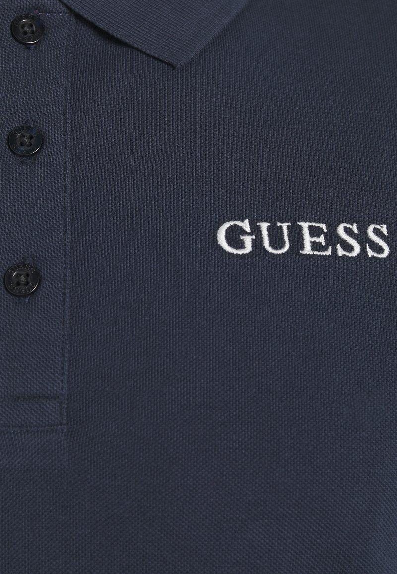 Guess - CLANCY  - Koszulka polo - blue navy