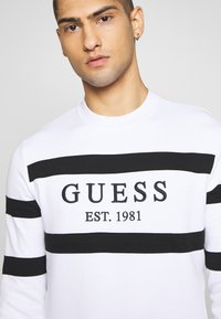 Guess - JACK - Sweatshirt - true white - 6