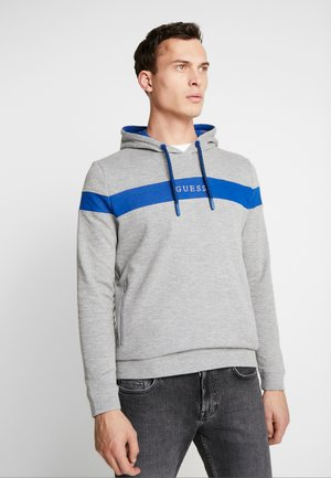 HOODIE - Sweat à capuche - grey/blue