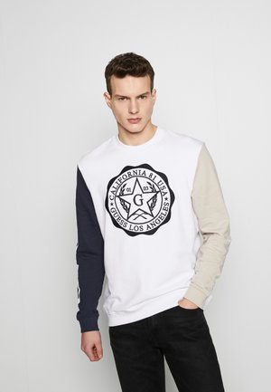 KENYON  - Sweatshirt - white navy and mink
