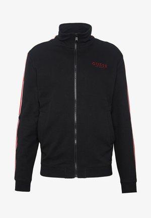 LORIN TRACK - veste en sweat zippée - jet black