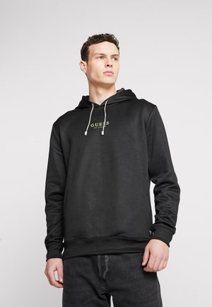 SID HOODIE - Bluza z kapturem - jet black