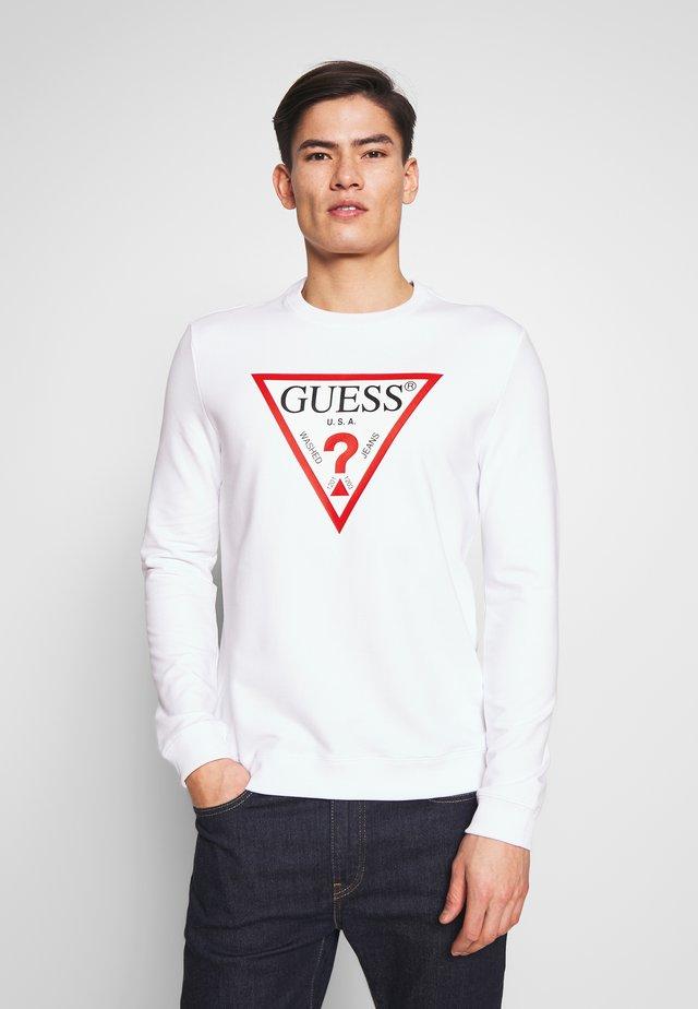 AUDLEY - Sweatshirt - blanc pur