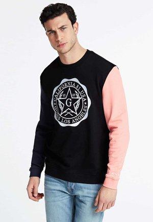 GUESS SWEATSHIRT FRONTLOGO - Sweatshirt - mehrfarbig schwarz
