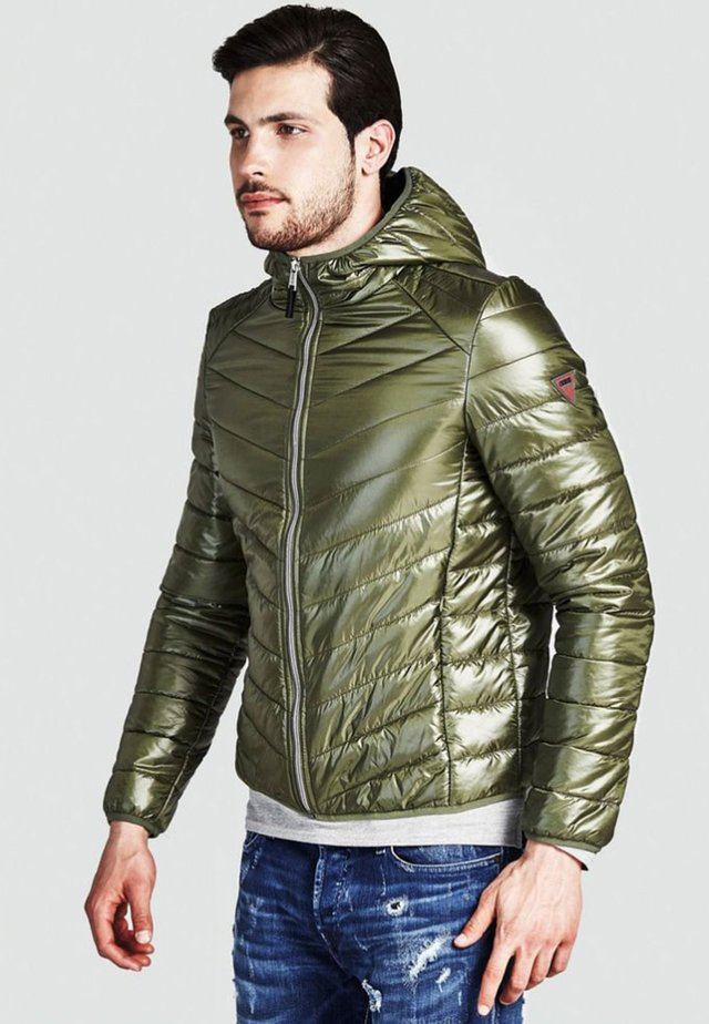 HOODED SUPERLIGHT - Veste mi-saison - green