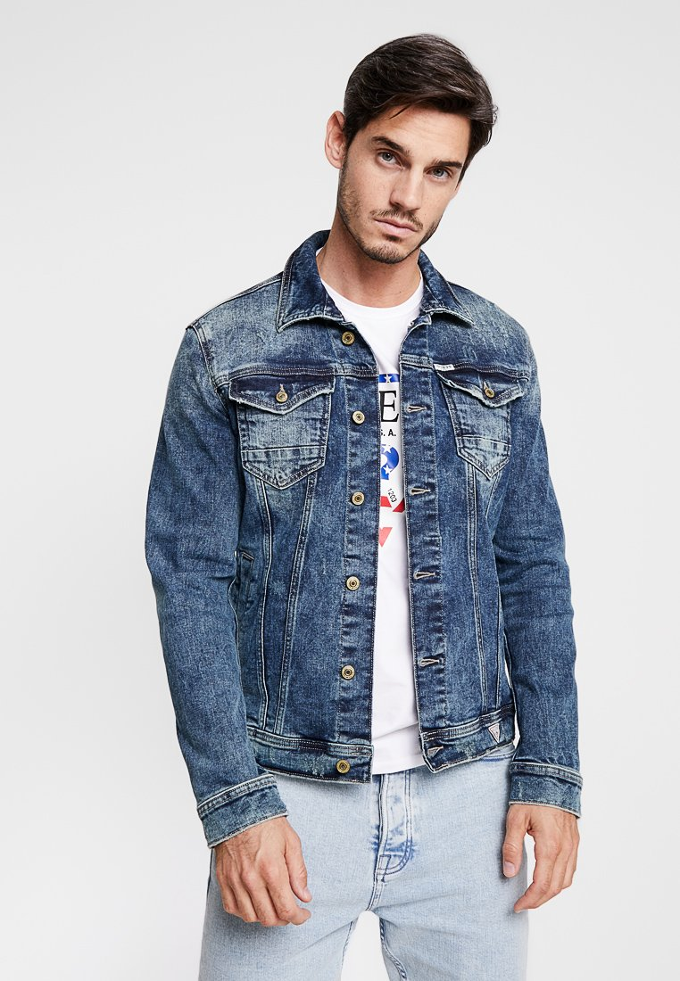 Guess - WILLIAM JACKET - Jeansjacke - dakhota