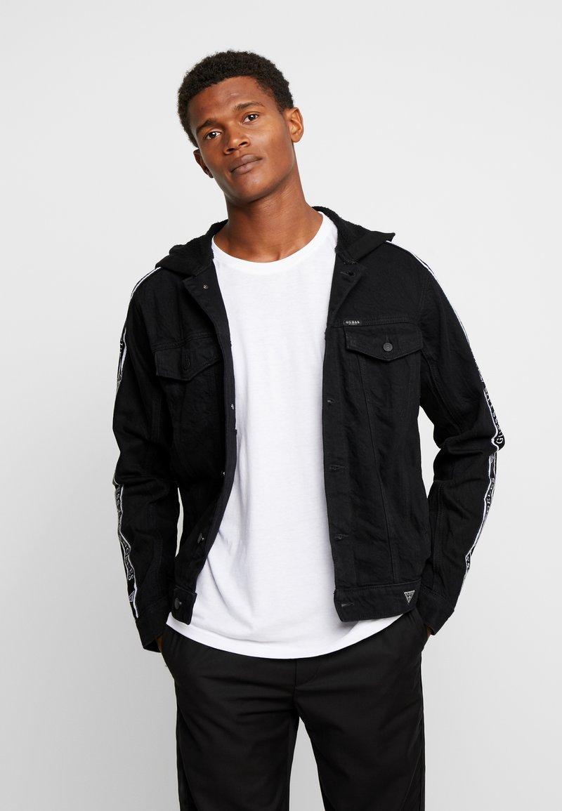 Guess - ALLEN  - Giacca di jeans - black denim