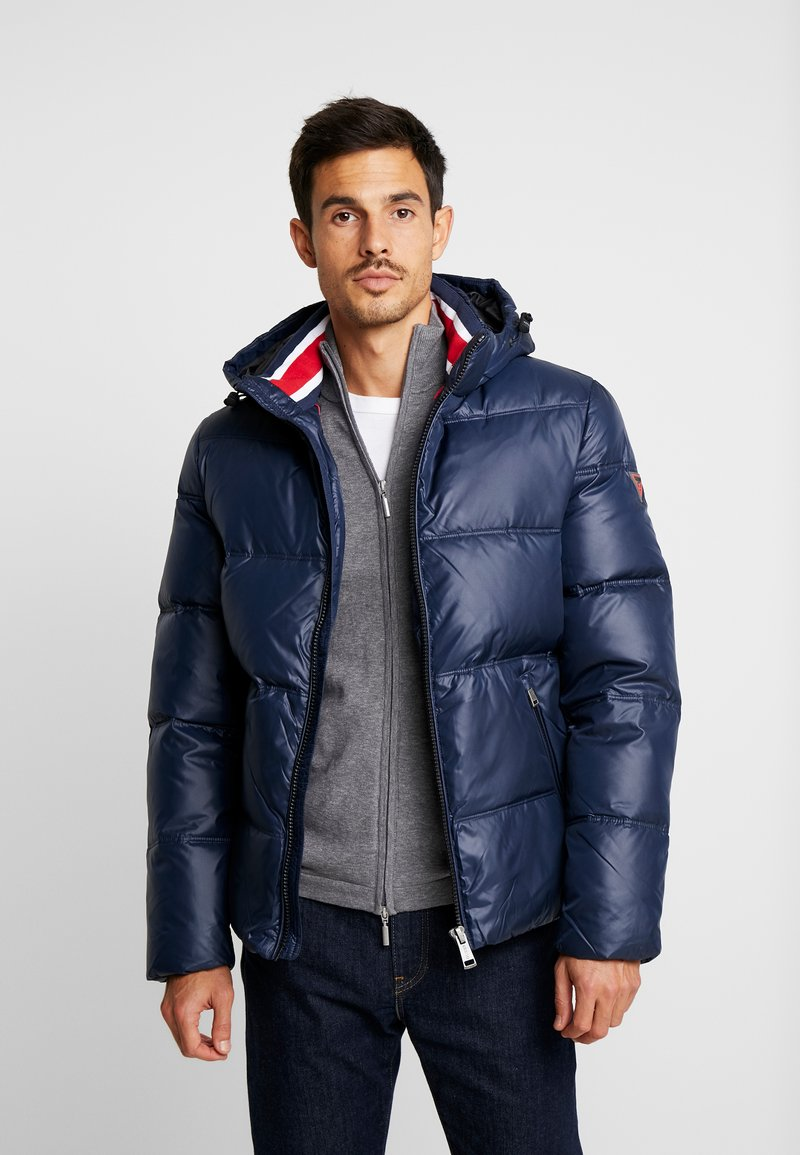 Guess - Down jacket - blue navy