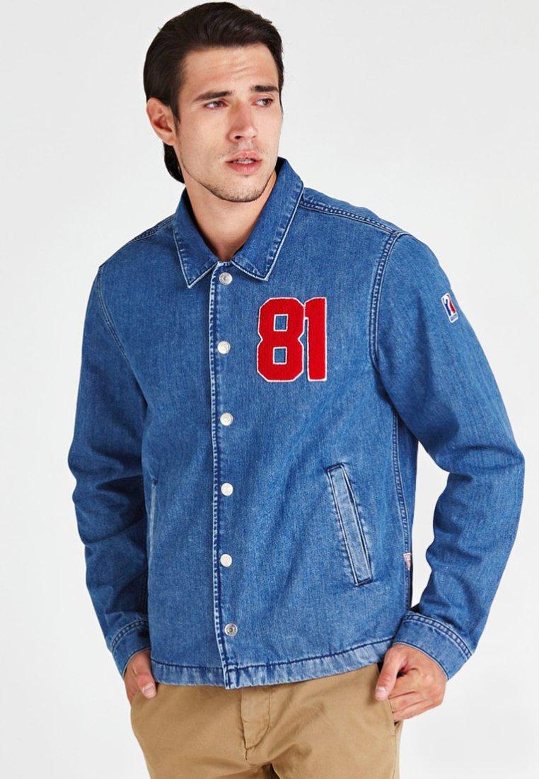 Guess - REGULAR FIT - Denim jacket - blue