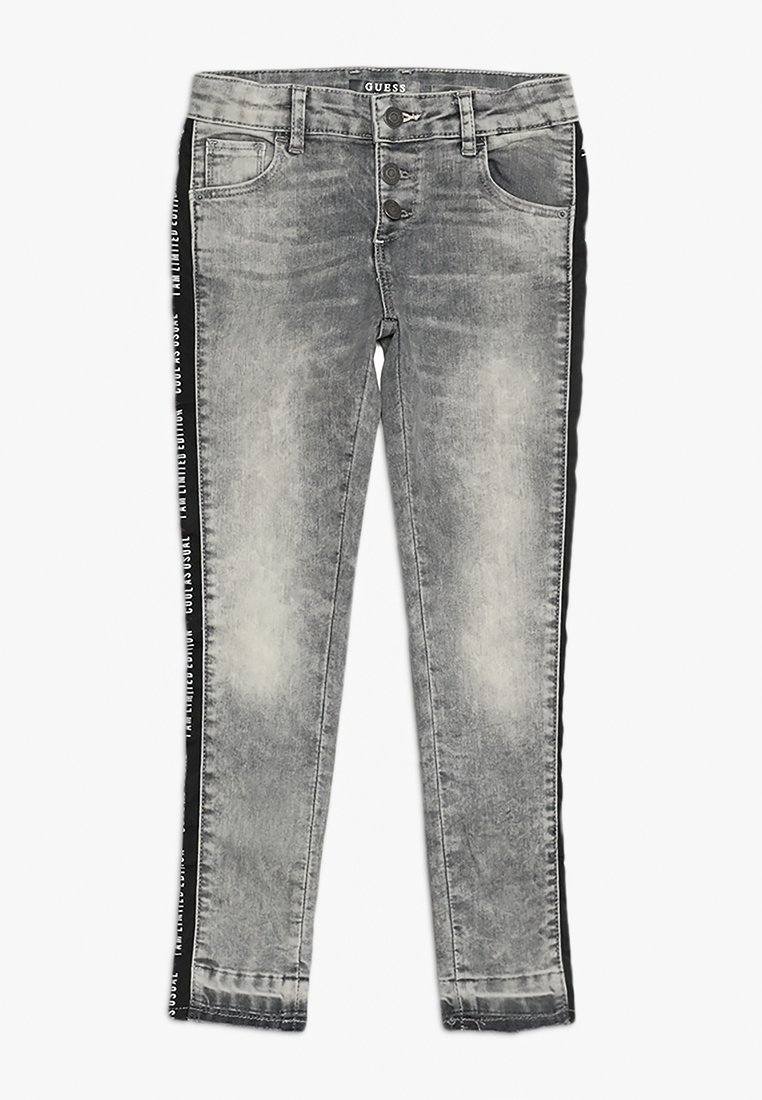 Guess - ANKLE LENGHT - Jeans Skinny Fit - sporty acid wash