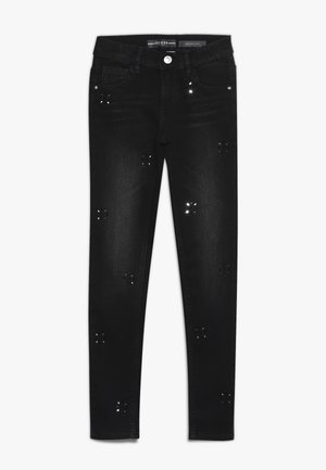 JUNIOR PANTS - Skinny džíny - black drop wash