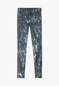 Guess - JUNIOR SKINNY PANTS - Skinny džíny - glacial damage blue - 3