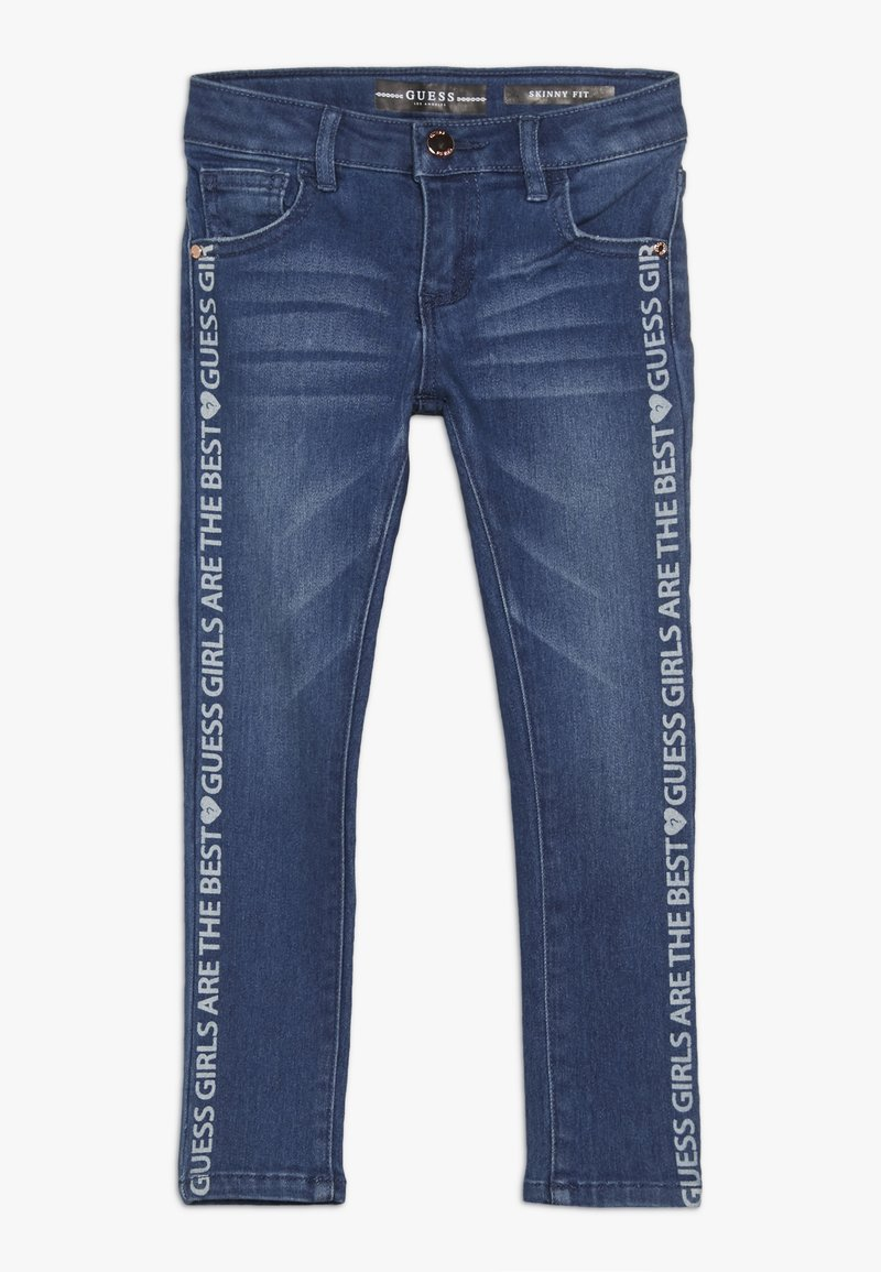 Guess - TODDLER SKINNY PANTS - Skinny džíny - spray shaded blue