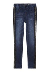 Guess - JUNIOR HIGH WAIST PANTS - Skinny džíny - rinse blue shaded - 0