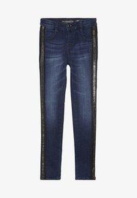 Guess - JUNIOR HIGH WAIST PANTS - Skinny džíny - rinse blue shaded - 2