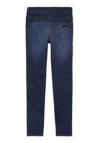 Guess - JUNIOR HIGH WAIST PANTS - Skinny džíny - rinse blue shaded - 1