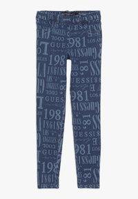 Guess - JUNIOR JEGGINGS PANTS - Skinny džíny - blue - 0