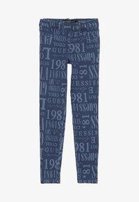 Guess - JUNIOR JEGGINGS PANTS - Skinny džíny - blue - 2