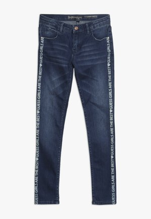 JUNIOR SKINNY PANTS - Skinny džíny - spray shaded blue