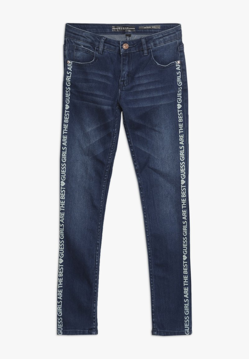 Guess - JUNIOR SKINNY PANTS - Skinny džíny - spray shaded blue