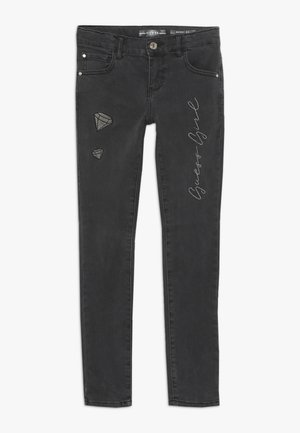 JUNIOR SKINNY PANTS - Skinny džíny - black faded denim