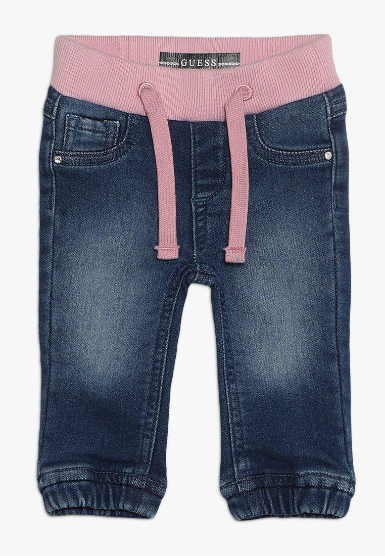 Guess - PULL ON PANTS BABY - Broek - indigo