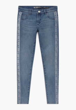 JUNIOR SKINNY - Jeans Skinny - light-blue denim