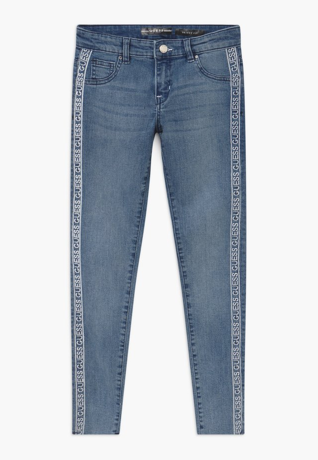 JUNIOR SKINNY - Jeans Skinny Fit - light-blue denim