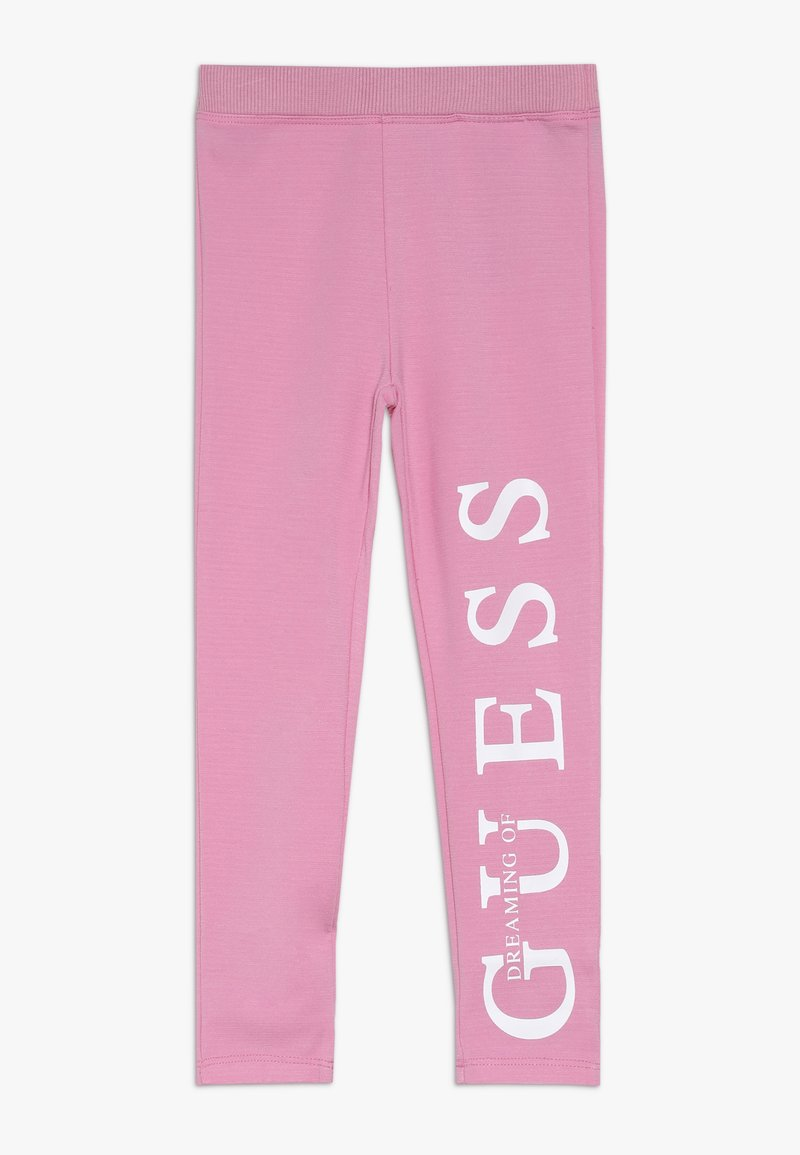 Guess - TODDLER POINTY ICON - Legíny - trigger pink