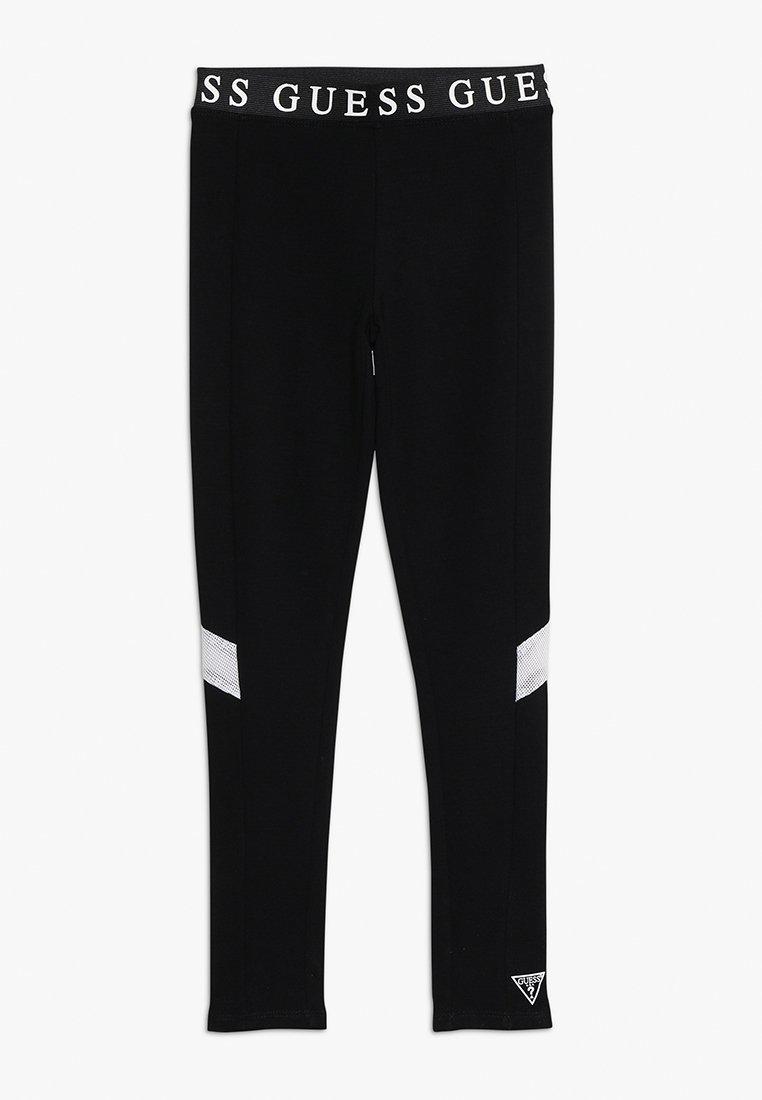 Guess - JUNIOR ACTIVE PANTS - Leggings - Trousers - jet black