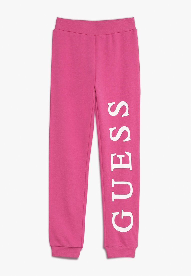 Guess - JUNIOR ACTIVE PANTS ICON - Verryttelyhousut - rose tint