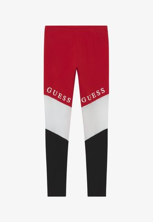 JUNIOR EXCLUSIVE - Leggings - Trousers - red
