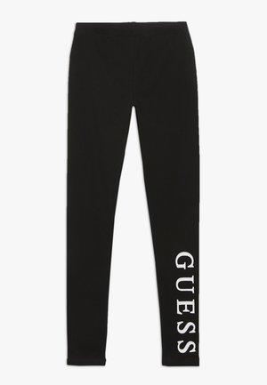JUNIOR CORE - Leggings - Trousers - jet black