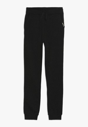 JUNIOR ACTIVE BOTTOM - Tracksuit bottoms - jet black