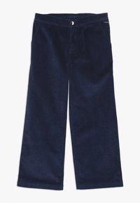 Guess - JUNIOR COULOTTE PANTS - Pantalones - deck blue - 0