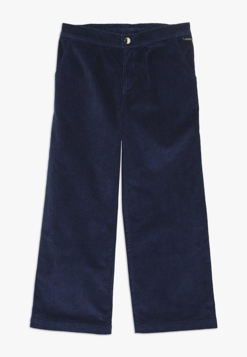 Guess - JUNIOR COULOTTE PANTS - Pantalones - deck blue