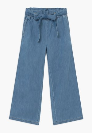 JUNIOR FASHION FIT PANTS - Jeans baggy - rippled lake medium