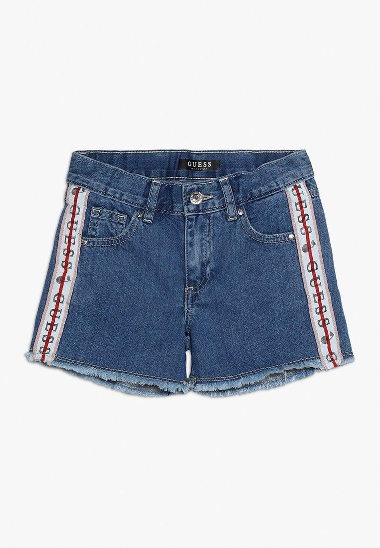 Guess - SHORTS - Jeans Shorts - foggy blue wash