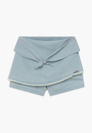 JUNIORCHAMBRAY - Denim shorts - vivi vintage light