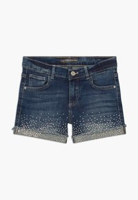 Guess - JUNIOR - Szorty jeansowe - iridescent blue wash - 0