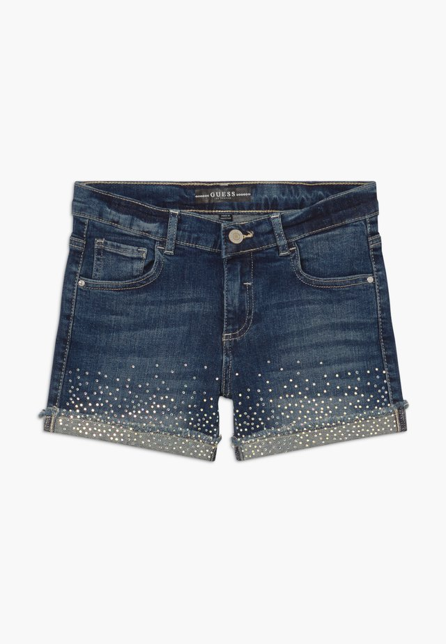 JUNIOR - Shorts di jeans - iridescent blue wash