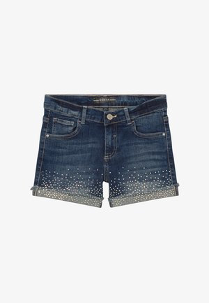 JUNIOR - Short en jean - iridescent blue wash