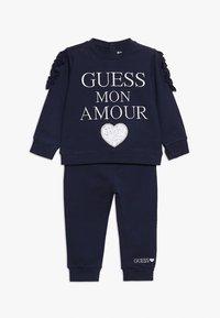 Guess - SET - Sweater - fancy blue - 0