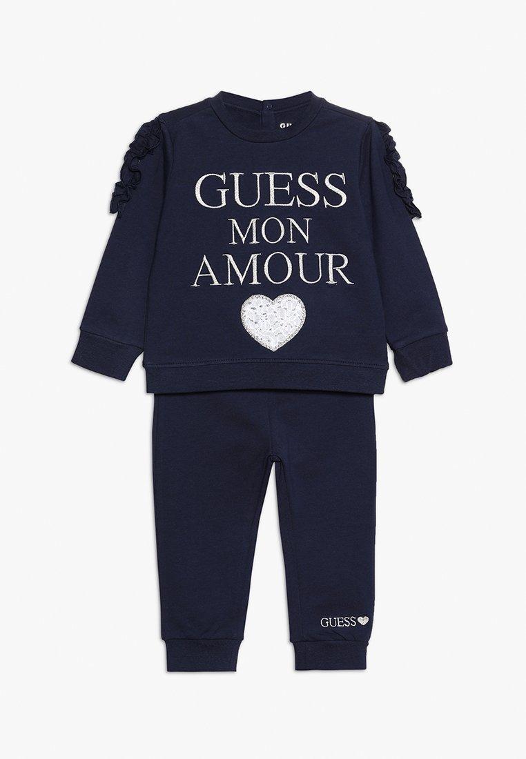Guess - SET - Sweatshirts - fancy blue