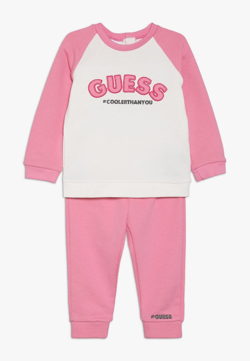 Guess - BABY SET - Sweatshirt - white glam