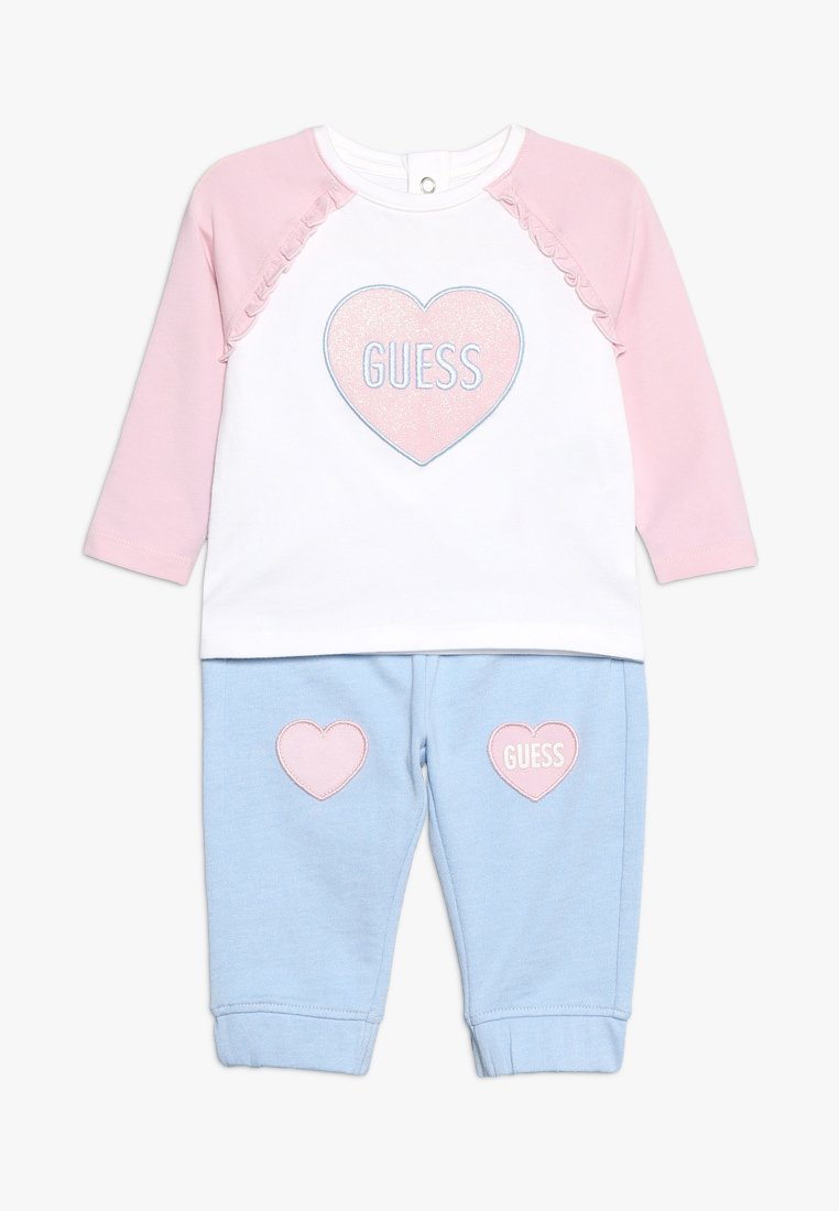 Guess - BABY SET - Trousers - true white