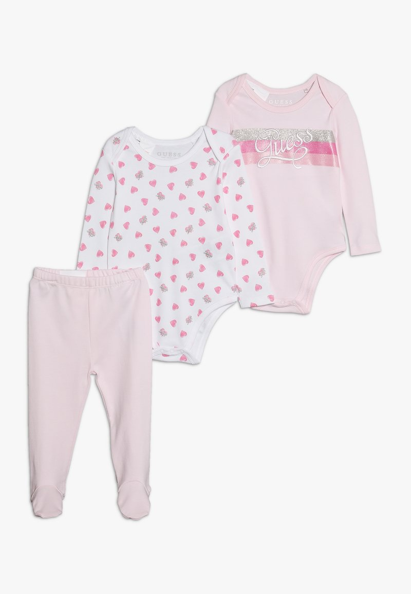 Guess - BABY SET - Baby gifts - white/pink