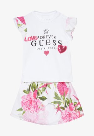 SET - A-line skirt - blanc pur