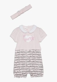 Guess - SHORTIE HAIR BAND BABY SET - Jumpsuit - light pink - 0