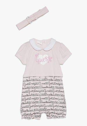 SHORTIE HAIR BAND BABY SET - Haalari - light pink